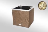 Lillepott «Ruut» autonoomse kastmissüsteemiga vask 50x50x50 cm