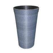 Lillepott «Koonus» 98x35x58 cm sinine