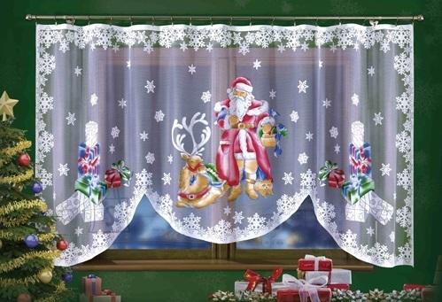 """Kardin """"Jõuluvana"""" 150x300"""
