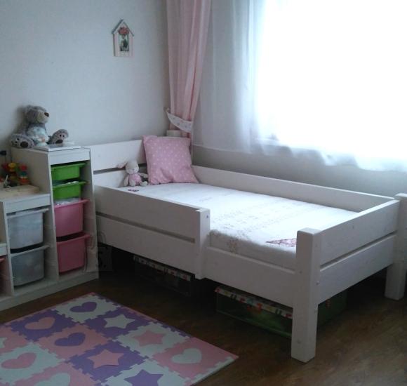 MSL mööbel Täispuidust lastevoodi