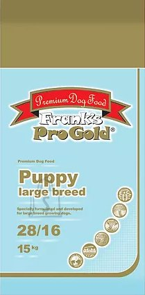 Frank's Pro Gold PUPPY LARGE BREED / suuretõulise koera kutsikale 15kg