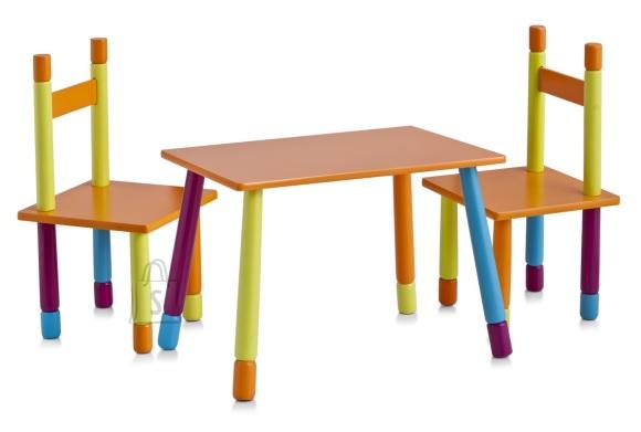 Zeller Present lastemööbli komplekt Color laud ja 2 tooli