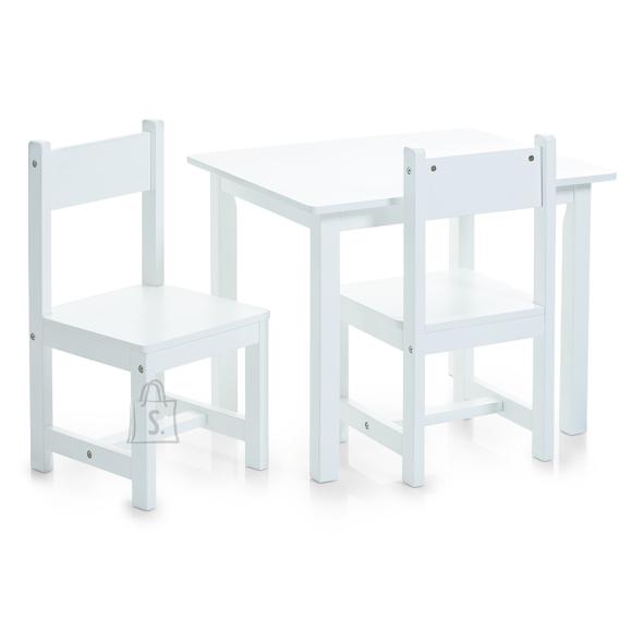 Zeller Present lastemööbli komplekt laud ja 2 tooli