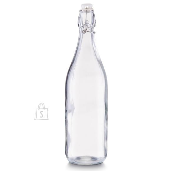 Zeller Present klaaspudel kinnitusega, 1000ml