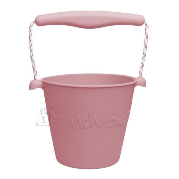 Scrunch ämber, roosa