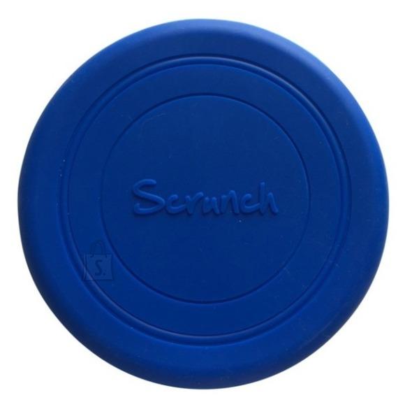 Scrunch lendav taldrik, tumesinine