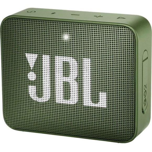 JBL Portable Speaker|JBL|GO 2|Portable/Waterproof/Wireless|1xMicro-USB|1xStereo jack 3.5mm|Bluetooth|Green|JBLGO2GRN