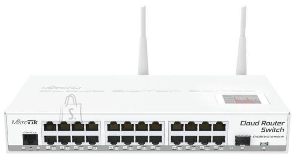 Mikrotik WRL ROUTER/SWITCH 24PORT 1000M/CRS125-24G-1S-2HND-IN MIKROTIK