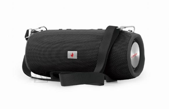 Gembird Portable Speaker|GEMBIRD|Portable/Wireless|1xMicro-USB|1xMicroSD Card Slot|Bluetooth|Black|SPK-BT-06