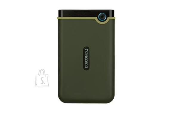 Transcend External HDD|TRANSCEND|StoreJet|1TB|USB 3.1|Colour Green|TS1TSJ25M3G