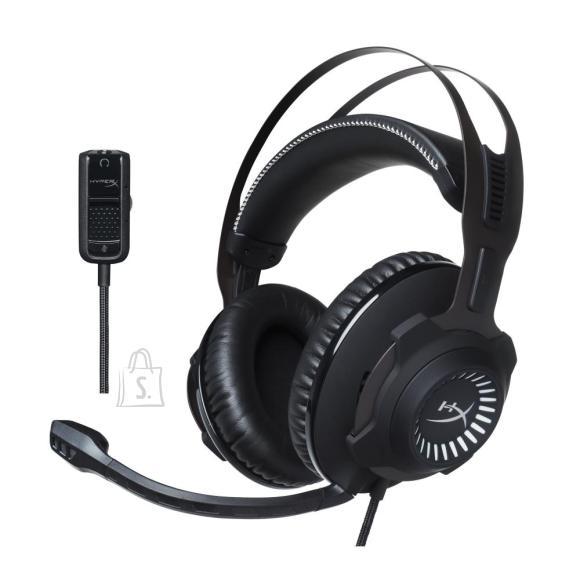 Kingston HEADSET HYPERX CLOUD REVOLVER/GUN METAL HX-HSCR-GM KINGSTON