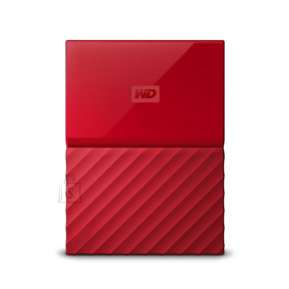 Western Digital External HDD|WESTERN DIGITAL|My Passport|2TB|USB 3.0|Colour Red|WDBS4B0020BRD-WESN