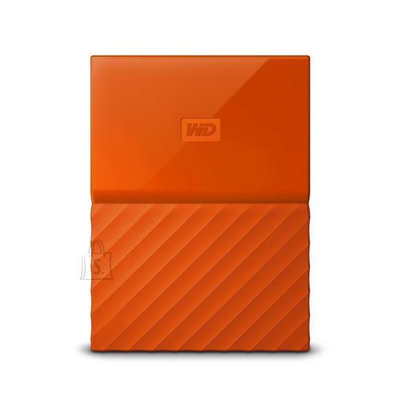 Western Digital External HDD|WESTERN DIGITAL|My Passport|2TB|USB 3.0|Colour Orange|WDBS4B0020BOR-WESN