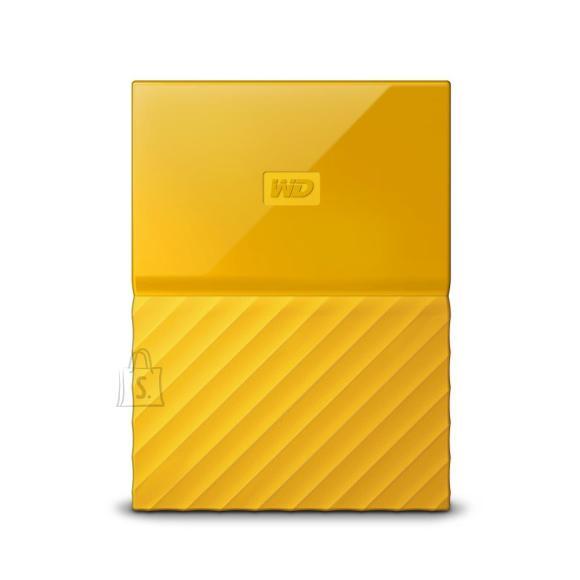 Western Digital External HDD|WESTERN DIGITAL|My Passport|1TB|USB 3.0|Colour Yellow|WDBYNN0010BYL-WESN