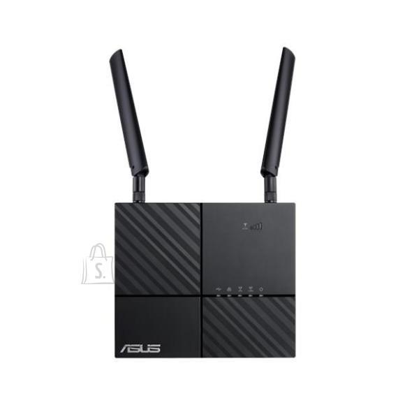 Asus Wireless Router|ASUS|Wireless Router|733 Mbps|IEEE 802.11ac|USB 2.0|2x10/100/1000M|Number of antennas 2|4G|4G-AC53U