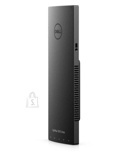 "Dell PC|DELL|OptiPlex|7070|Business|Ultra|CPU Core i5|i5-8265U|1600 MHz|RAM 8GB|DDR4|2666 MHz|SSD 256GB|Graphics card Intel UHD Graphics 620|Integrated|ENG|Windows 10 Pro|Included Accessories Dell KM636 Wireless QWERTY Keyboard and Mouse;OptiPlex Ultra Height Adjustable Stand for 19"", 27"" monitors