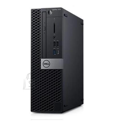 Dell PC|DELL|OptiPlex|7070|Business|SFF|CPU Core i5|i5-9500|3000 MHz|RAM 8GB|DDR4|2666 MHz|SSD 256GB|Graphics card Intel UHD Graphics 630|Integrated|EST|Windows 10 Pro|Included Accessories Dell Optical Mouse - MS116, Dell Multimedia Keyboard|N006O7070SFF_2