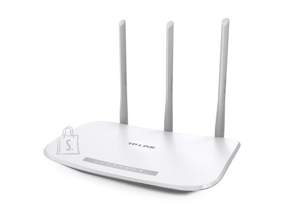 TP-Link Wireless Router|TP-LINK|IEEE 802.11b|IEEE 802.11g|IEEE 802.11n|1 WAN|4x10/100M|Number of antennas 3|TL-WR845N