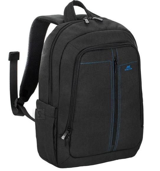 "NB BACKPACK CANVAS 15.6""/7560 BLACK RIVACASE"