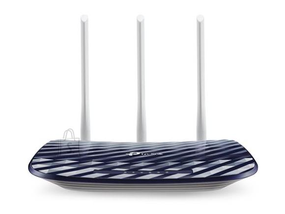 TP-Link Wireless Router|TP-LINK|Wireless Router|733 Mbps|IEEE 802.11a|IEEE 802.11b|IEEE 802.11g|IEEE 802.11n|IEEE 802.11ac|1 WAN|4x10/100M|Number of antennas 3|ARCHERC20V4