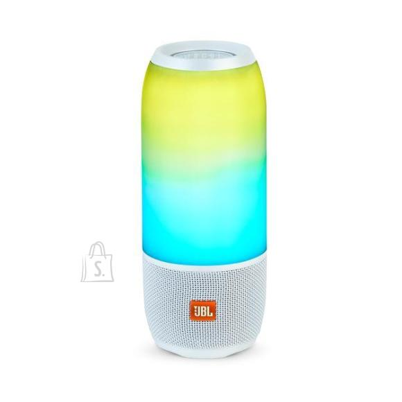 JBL Portable Speaker|JBL|Pulse 3|Portable/Waterproof/Wireless|Bluetooth|White|PULSE3WHITE