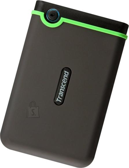 Transcend External HDD|TRANSCEND|StoreJet|2TB|USB 3.0|Colour Green|TS2TSJ25M3S