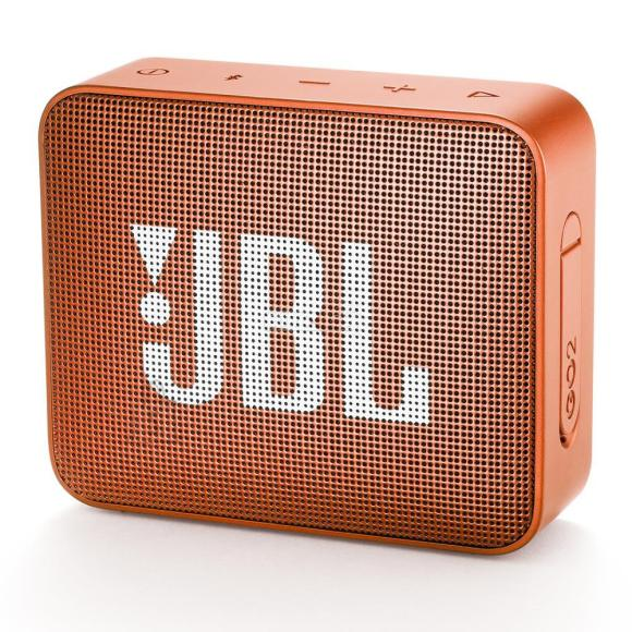 JBL Portable Speaker|JBL|GO 2|Portable/Waterproof/Wireless|1xMicro-USB|1xStereo jack 3.5mm|Bluetooth|Orange|JBLGO2ORG