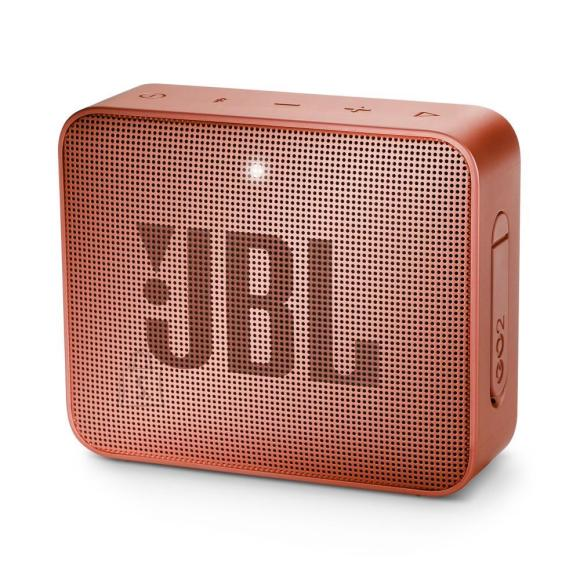 JBL Portable Speaker|JBL|GO 2|Portable/Waterproof/Wireless|1xMicro-USB|1xStereo jack 3.5mm|Bluetooth|JBLGO2CINNAMON