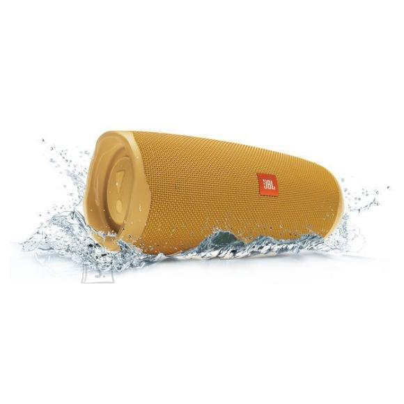 JBL Portable Speaker|JBL|Charge 4|Portable/Waterproof/Wireless|Bluetooth|Yellow|JBLCHARGE4YEL