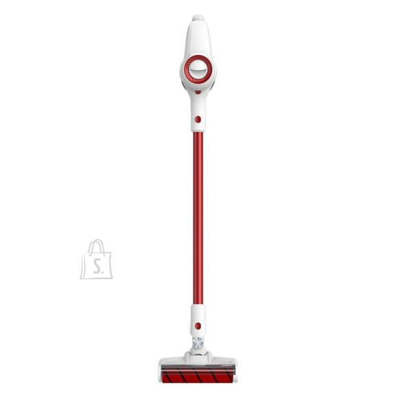 Xiaomi Vacuum Cleaner|XIAOMI|JV51|Handheld/Cordless/Bagless|115 Watts|Capacity 0.5 l|Noise 75 dB|White / Red|Weight 1.46 kg|JIMMYJV51