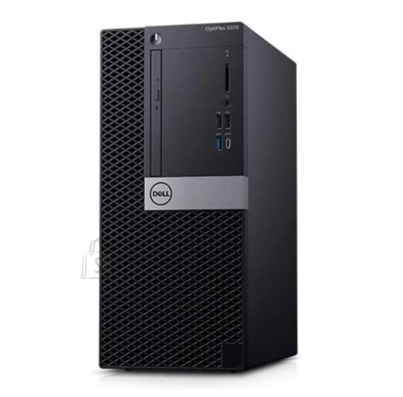 Dell PC|DELL|OptiPlex|5070|Business|MiniTower|CPU Core i7|i7-9700|3000 MHz|RAM 16GB|DDR4|2666 MHz|SSD 256GB|Graphics card Intel UHD Graphics 630|Integrated|EST|Windows 10 Pro|Included Accessories Dell Multimedia Keyboard|N012O5070MT_2