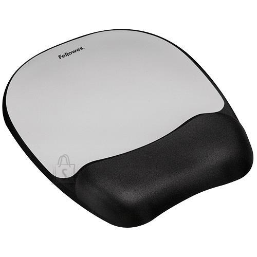 Fellowes MOUSE PAD MEMORY FOAM/SILVER STREAK 9175801 FELLOWES