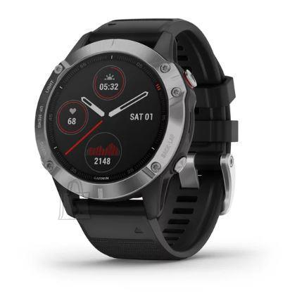 Garmin SMARTWATCH FENIX 6/SILV/BLACK 010-02158-00 GARMIN