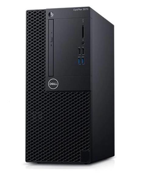 Dell PC|DELL|OptiPlex|3070|Business|MiniTower|CPU Core i5|i5-9500|3000 MHz|RAM 8GB|DDR4|2666 MHz|SSD 256GB|Graphics card Intel UHD Graphics 630|Integrated|EST|Windows 10 Pro|Included Accessories Dell Optical Mouse - MS116; Dell Multimedia Keyboard|210-ASBK_4