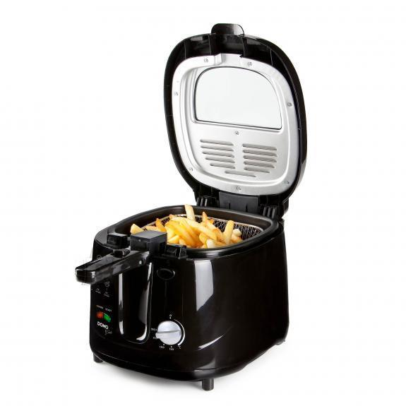 DEEP FRYER 2.5L 1800W/BLACK DO461FR DOMO