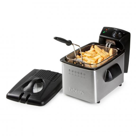 DEEP FRYER 3L 2200W/STEEL DO464FR DOMO