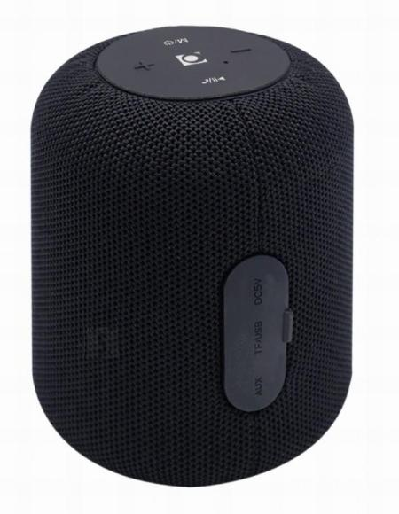 Gembird Portable Speaker|GEMBIRD|Portable/Wireless|1xMicroSD Card Slot|Bluetooth|Black|SPK-BT-15-BK