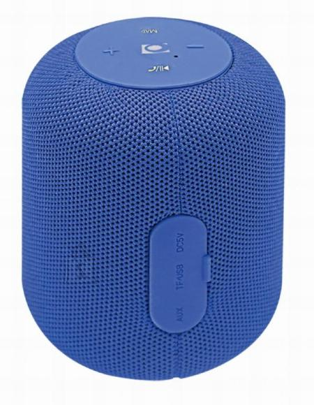 Gembird Portable Speaker|GEMBIRD|Portable/Wireless|1xMicroSD Card Slot|Bluetooth|Blue|SPK-BT-15-B