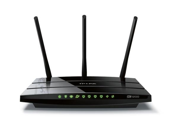 TP-Link Wireless Router|TP-LINK|Router|1200 Mbps|IEEE 802.11a|IEEE 802.11b|IEEE 802.11g|IEEE 802.11n|IEEE 802.11ac|USB 2.0|1 WAN|4x10/100/1000M|Number of antennas 3|ARCHERC1200