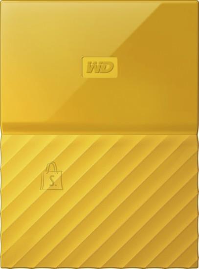 Western Digital External HDD|WESTERN DIGITAL|My Passport|4TB|USB 3.0|Colour Yellow|WDBYFT0040BYL-WESN
