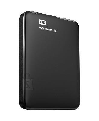 Western Digital External HDD|WESTERN DIGITAL|Elements Portable|500GB|USB 3.0|Colour Black|WDBUZG5000ABK-WESN