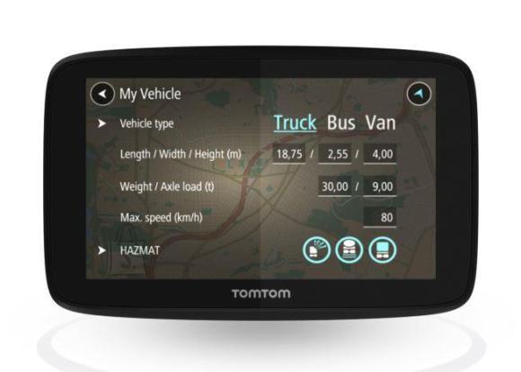 "TomTom CAR GPS NAVIGATION SYS 5""/GO PROF 520 1PN5.002.07 TOMTOM"