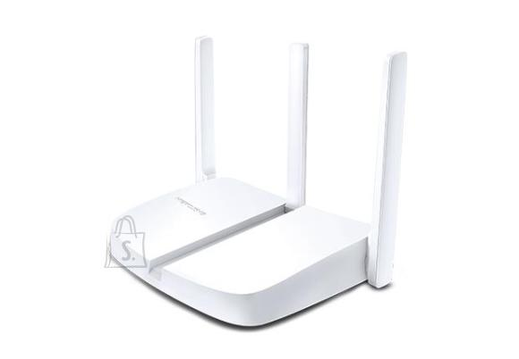 Wireless Router|MERCUSYS|Wireless Router|300 Mbps|IEEE 802.11b|IEEE 802.11g|IEEE 802.11n|Number of antennas 2|MW305R