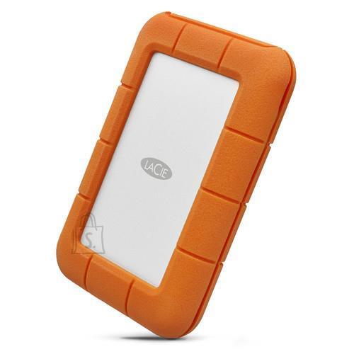 LaCie External HDD|LACIE|4TB|USB-C|Thunderbolt|Colour Orange|STFS4000800