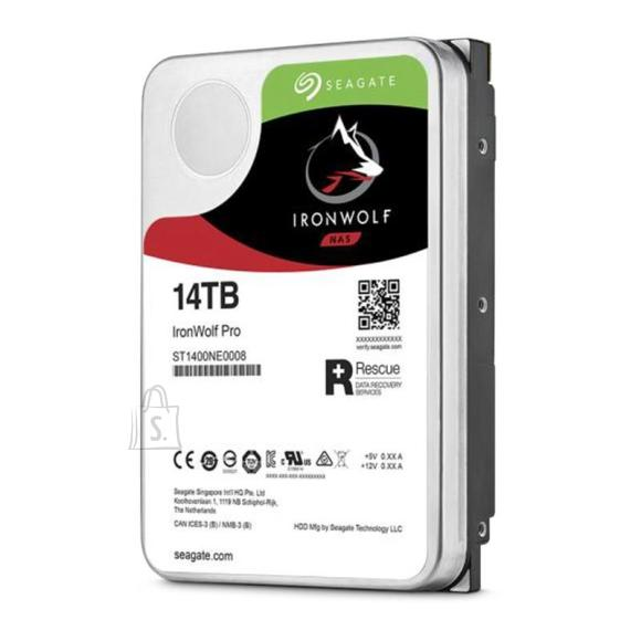 Seagate HDD|SEAGATE|IronWolf Pro|14TB|SATA|256 MB|7200 rpm|Discs/Heads 8/16|3,5"