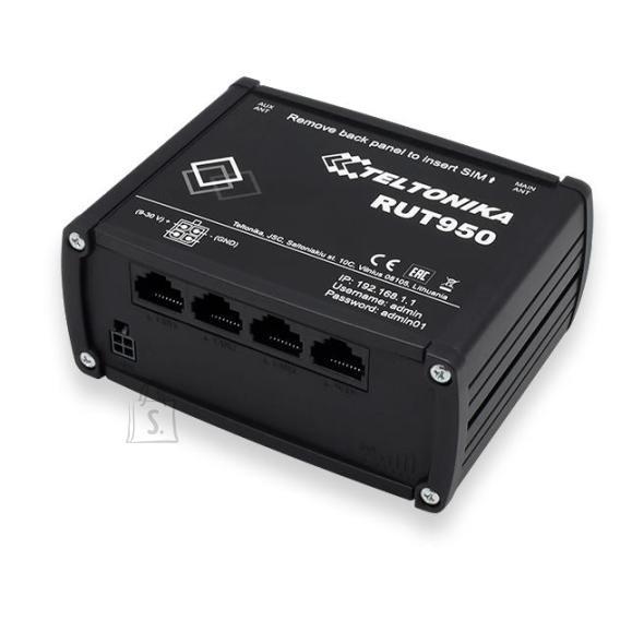 Wireless Router|TELTONIKA|Wireless Router|150 Mbps|IEEE 802.11b|IEEE 802.11g|IEEE 802.11n|3x10/100M|LAN \ WAN ports 1|4G|RUT950