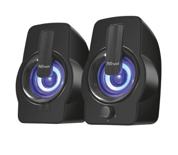 Trust Speaker|TRUST|Gemi RGB|P.M.P.O. 12 Watts|1xAudio-In|Black|22948