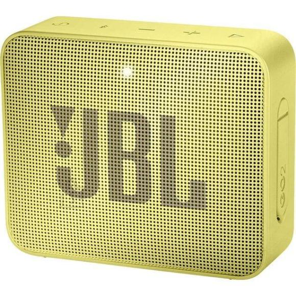 JBL Portable Speaker|JBL|GO 2|Portable/Waterproof/Wireless|1xMicro-USB|1xStereo jack 3.5mm|Bluetooth|Yellow|JBLGO2YEL