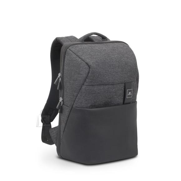 "NB BACKPACK LANTAU 15.6""/8861 BLACK MELANGE RIVACASE"