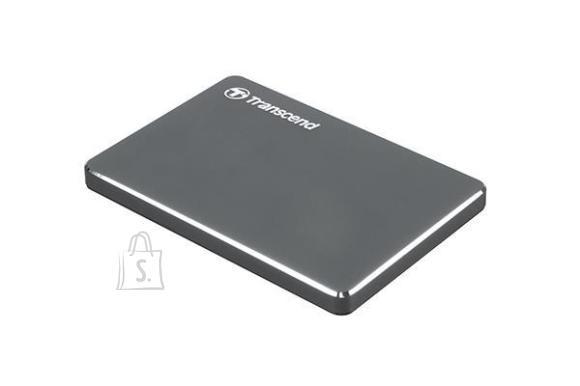 Transcend External HDD|TRANSCEND|StoreJet|2TB|USB 3.1|Colour Iron Grey|TS2TSJ25C3N